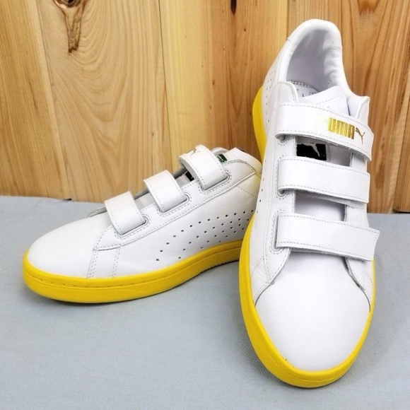 detailed look 83f08 7dbc2 PUMA Court Star Straps 10.5 GV SPECIAL WHISPER NEW NWT